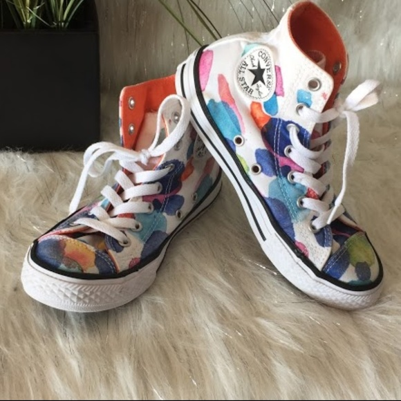 Converse Other - Converse multi color high top for Kids SZ 2 a63cd7096